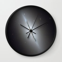 Bright galaxy Wall Clock