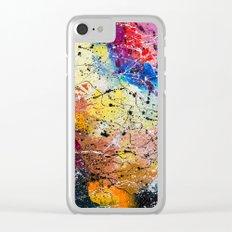 Autumn garden Clear iPhone Case