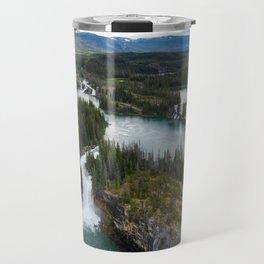 Monkman Cascades Travel Mug