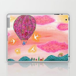 Pink Balloons Laptop & iPad Skin