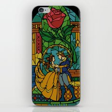 Beauty and The Beast - Stained Glass iPhone & iPod Skin