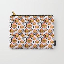 Pumpkinhead Pattern Carry-All Pouch