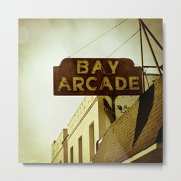The Arcade Metal Print