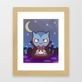 Count Von Nibbles Framed Art Print
