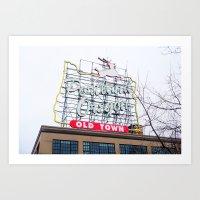 Welcome to Portland - Oregon Art Print