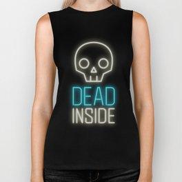 Dead inside Biker Tank