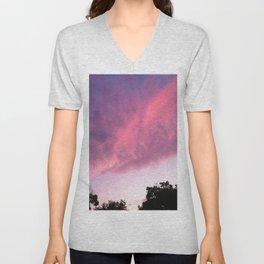Color Bomb Sunset Unisex V-Neck
