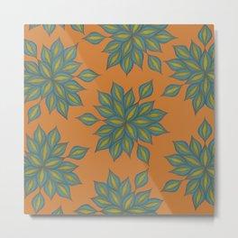 Seaflower Metal Print