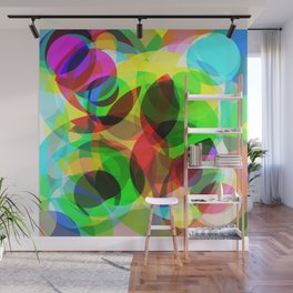 Abstract Leaf Wall Mural