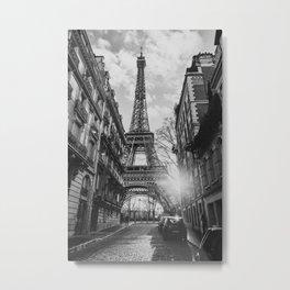 Paris at sunset Metal Print
