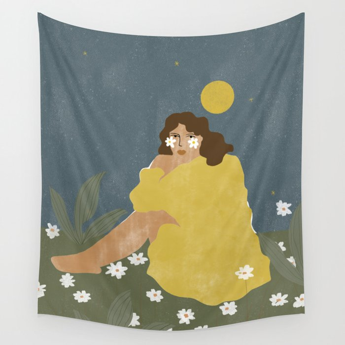Sun don't shine Wall Tapestry