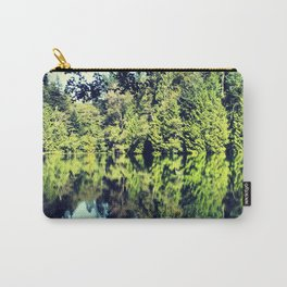 Reflection on Fragrance lake in Northern Washington Carry-All Pouch