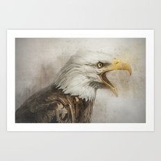The Eagles Call Art Print