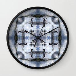 Reflections: Place Masséna Wall Clock