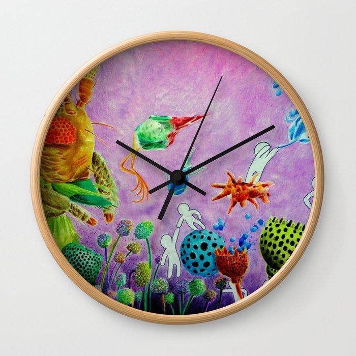 STELLARVIRUS Wall Clock