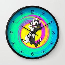 Niels Feynman | Erwin hates Mondays Wall Clock
