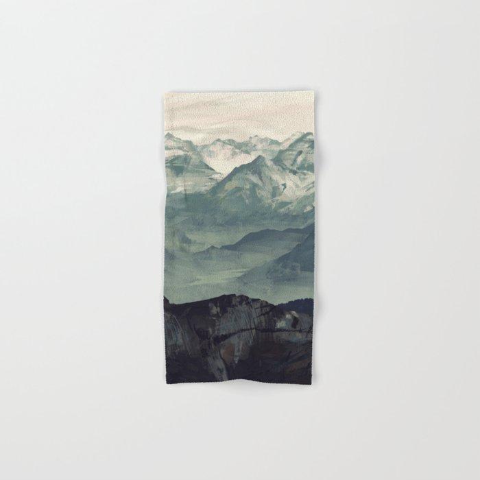 Mountain Fog Hand & Bath Towel