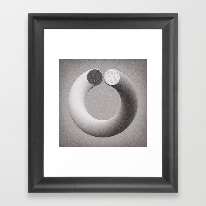 On the Edge of Chaos Framed Art Print