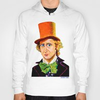 willy wonka Hoodies featuring Wonka by Jordan Soliz