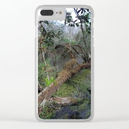 Derailed Clear iPhone Case
