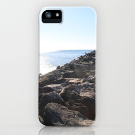 Rocks By The Ocean iPhone Case