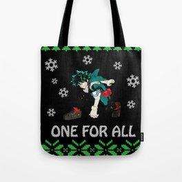 My Hero Academia Ugly Christmas Tote Bag