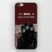 daredevil iPhone & iPod Skins featuring Daredevil by amyskhaleesi