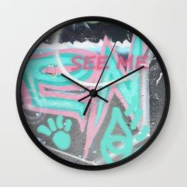 see me Wall Clock