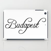 budapest iPad Cases featuring Budapest by Blocks & Boroughs