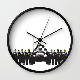 Banksy Have a nice day Wall Clock