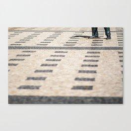 Stone Lines Canvas Print