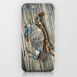 """Busted Peeler"" - Maryland Blue Crab iPhone Case"