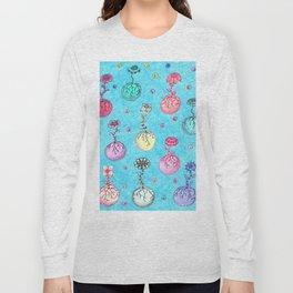 Flower Orbs Long Sleeve T-shirt
