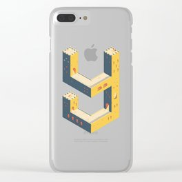 castle in the 'Y' Clear iPhone Case