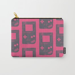 Game Boy on pink Carry-All Pouch