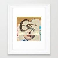 medusa Framed Art Prints featuring medusa by Robert Alan