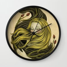 An Embrace Wall Clock