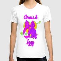ariana grande T-shirts featuring Ariana Grande Ft. Iggy Azalea #2 by Glopesfirestar