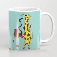 dance Mugs featuring Dance by Anna Shell