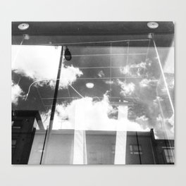 Skies, Mare Street, London Canvas Print