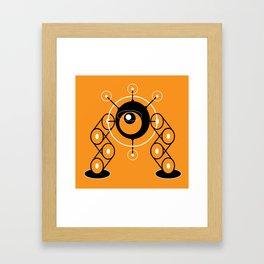 DBM ROBOT L1 Framed Art Print
