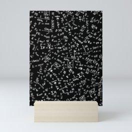 Equation Overload Mini Art Print