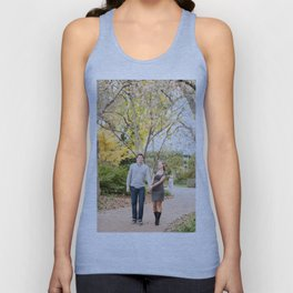 Fall walk in the park Unisex Tank Top