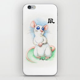 Chinese Zodiac Year of the Rat iPhone Skin