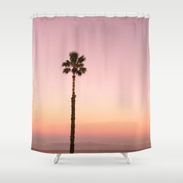 Stand out - ombré pink Shower Curtain