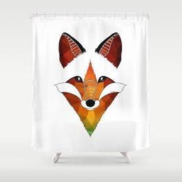 Wild Fox Shower Curtain