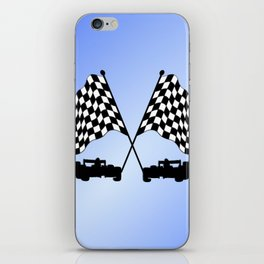Race Cars iPhone Skin