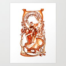 The Taming of the Shrew Art Print