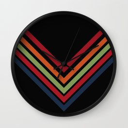 autumn way Wall Clock