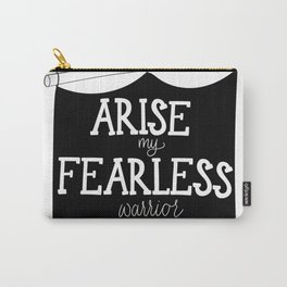 Fearless warrior Carry-All Pouch